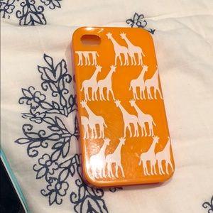 Kate Spade giraffe iPhone 4 case